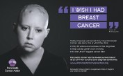 Pancreatic Cancer Action wish I had breast cancer copy
